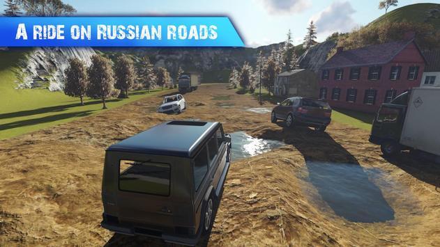 Gelandewagen Russian Road poster
