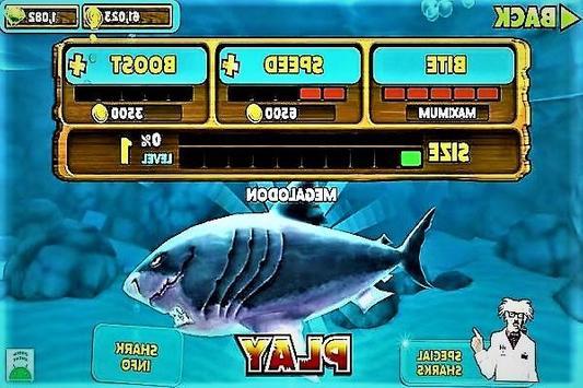 Tutorial Hungry Shark Evolution apk screenshot