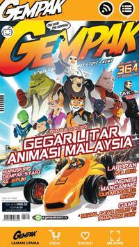Gempak-Majalah Komik poster