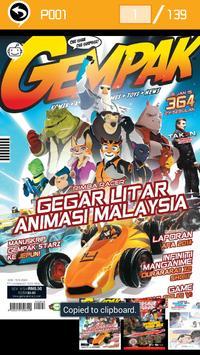 Gempak-Majalah Komik apk screenshot
