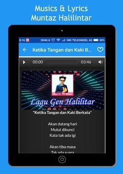 Muntaz Halilintar Song + Lyrics screenshot 4