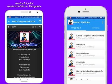 Muntaz Halilintar Song + Lyrics screenshot 5