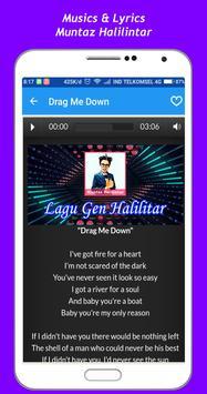 Muntaz Halilintar Song + Lyrics screenshot 1