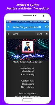 Muntaz Halilintar Song + Lyrics screenshot 2