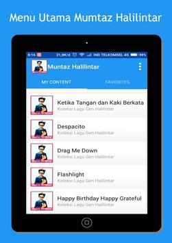 Muntaz Halilintar Song + Lyrics screenshot 3