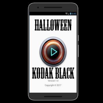Halloween - Kodak Black poster