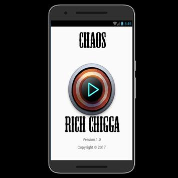 Chaos Song Rich Chigga poster