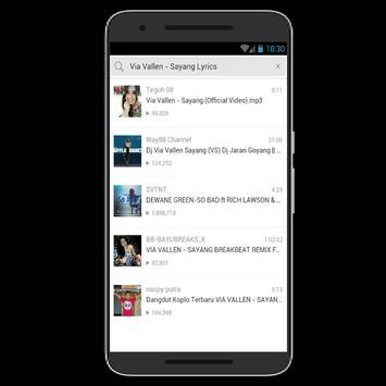 Sayang Song Via Vallen screenshot 1