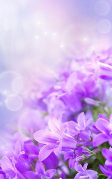 Gentle Flowers Live Wallpaper poster
