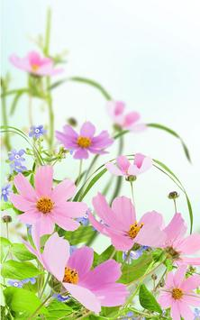 Gentle Flowers Live Wallpaper screenshot 1