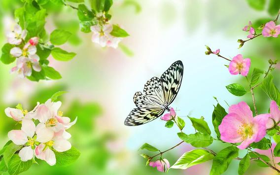 Gentle Flowers Live Wallpaper screenshot 7
