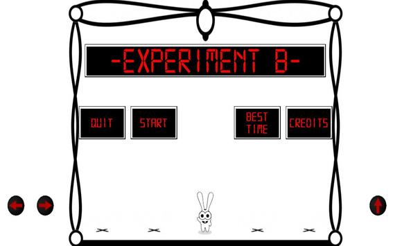Experiment B poster