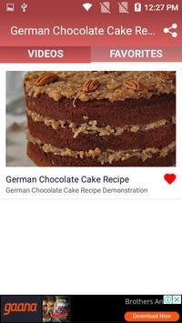 German Chocolate Cake Recipe screenshot 5