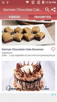German Chocolate Cake Recipe screenshot 3