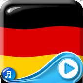 German Flag Waving Wallpaper icon