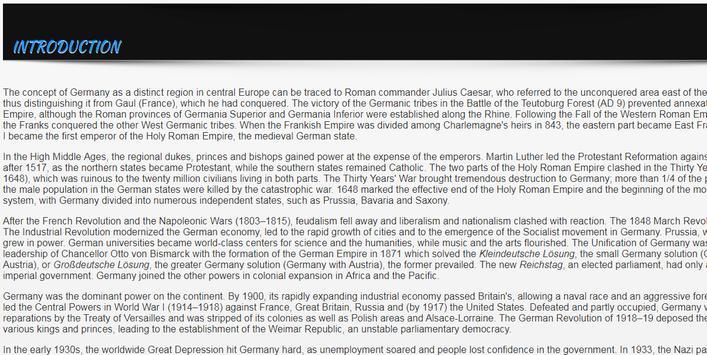 History of Germany screenshot 1