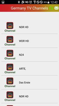 Watch Germany Channels TV Live apk screenshot
