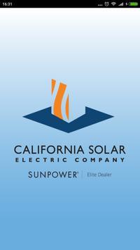 California Solar Electric poster