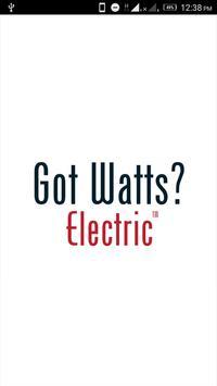 Got Watts? Electric poster