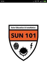 Sun 101 Solar poster