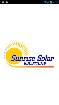 Sunrise Solar Solutions LLC poster