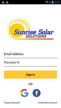 Sunrise Solar Solutions LLC screenshot 1