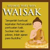 DP WAISAK ART WALLPAPER icon
