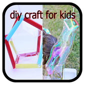 diy craft for kids icon
