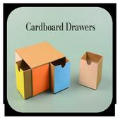 diy with cardboard icon