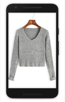diy v neck sweater screenshot 1