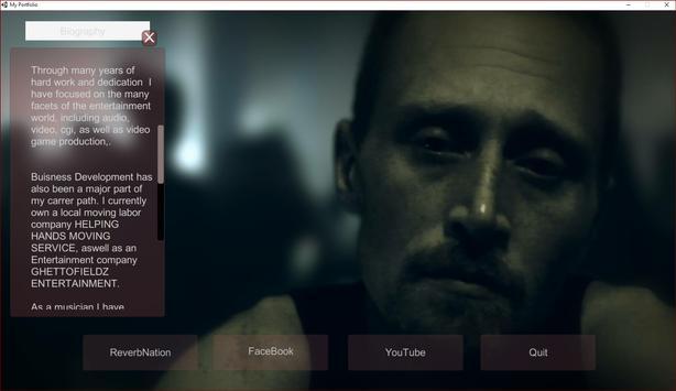 Portfolio(Aaron Kelly Hulse) screenshot 1