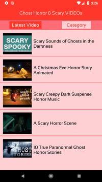 Ghost Horror & Scary VIDEOs apk screenshot