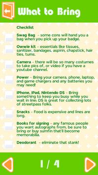 Comic-Con Tips apk screenshot