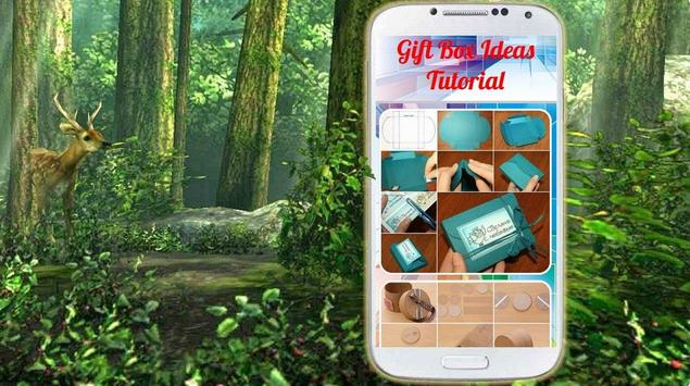 Gift Box Ideas Tutorial apk screenshot
