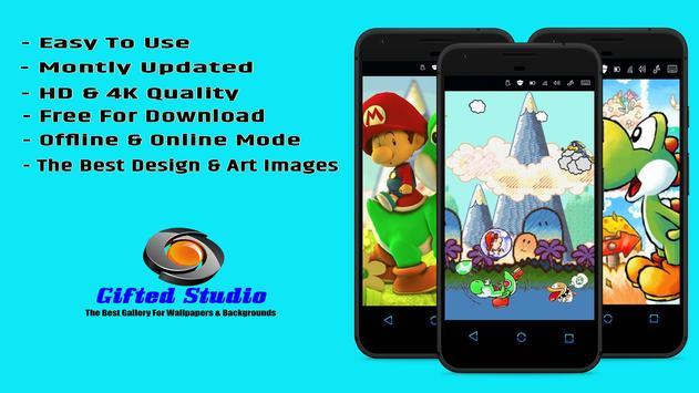 Yoshi's Island Wallpaper Fanart screenshot 1