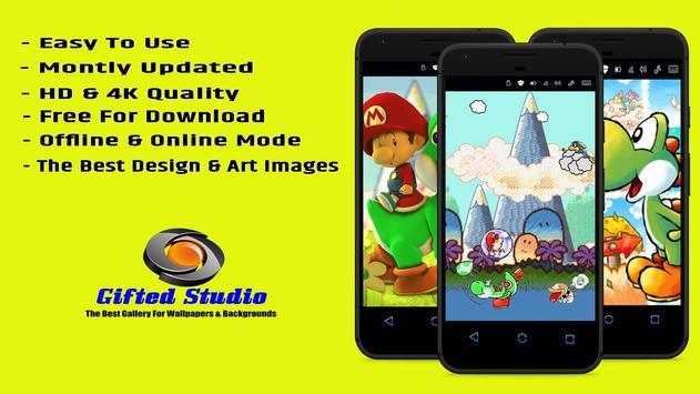 Yoshi's Island Wallpaper Fanart screenshot 2