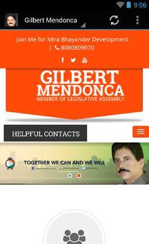 Gilbert Mendonca poster