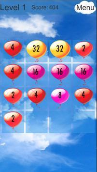 2048 Air Balls screenshot 2
