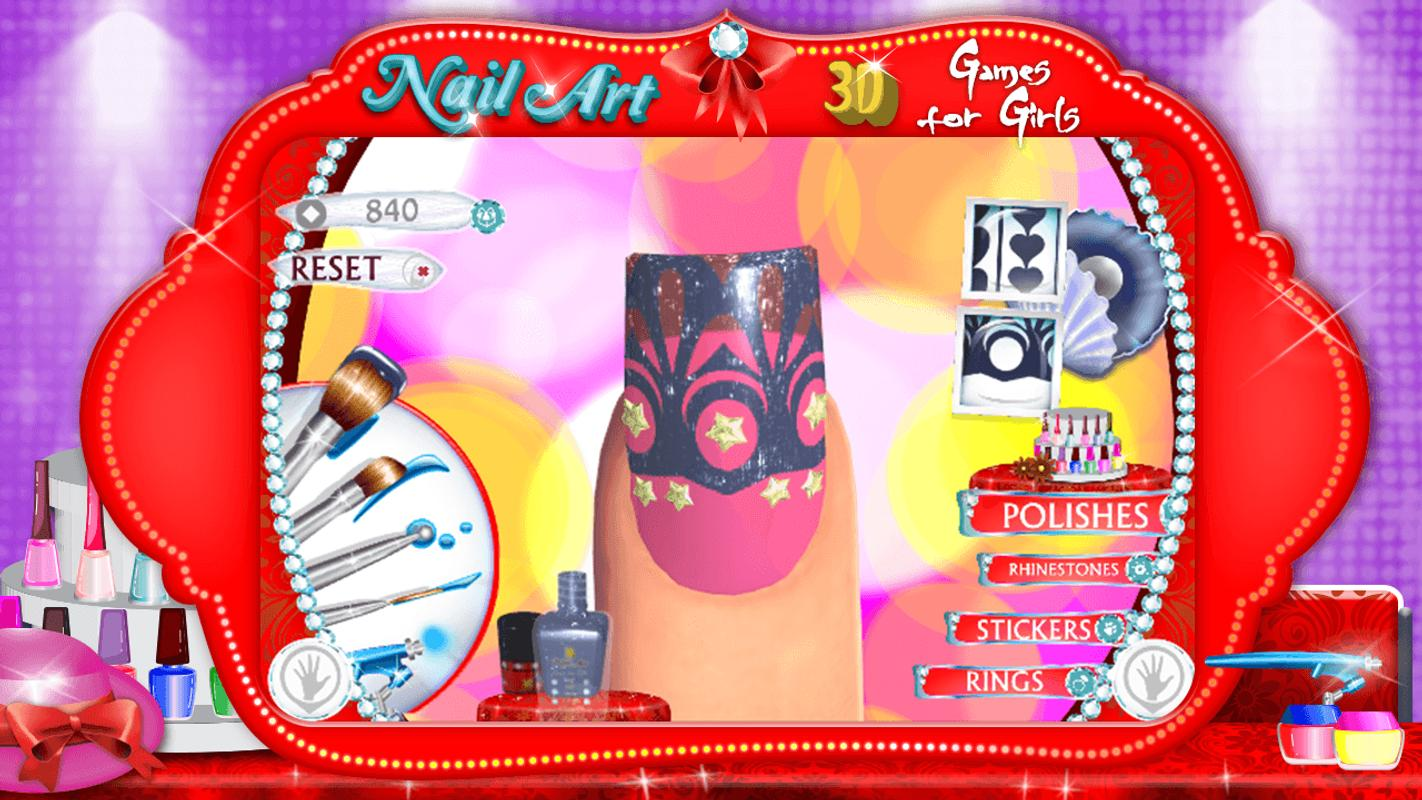 3D Nail Art Games for Girls APK Download - Free Lifestyle APP for ...