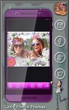 Girly Photo Frames apk screenshot