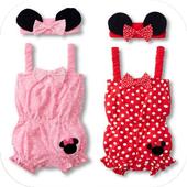 baby girl clothes icon