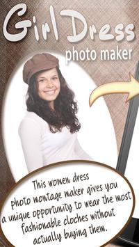 Girl Dress Photo Maker FREE poster