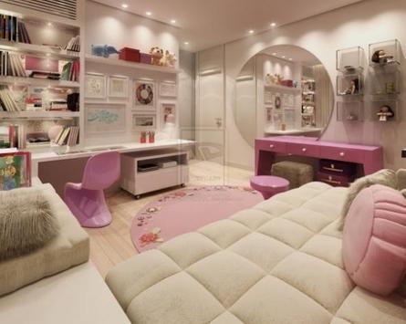 Girl Room Interior Design screenshot 5