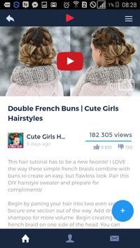 Cute Girl Hairstyles screenshot 1