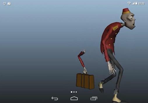 Zombie Adventures Coffer LWP apk screenshot