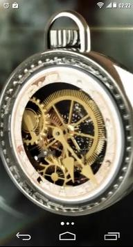 Clock Mechanism Structure LWP poster