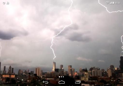 Lightning Storm City 4K LWP screenshot 3