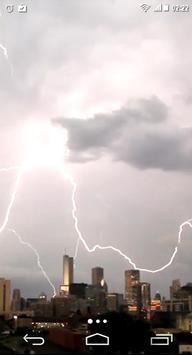 Lightning Storm City 4K LWP screenshot 2