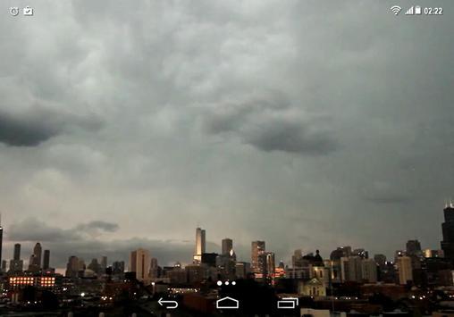 Lightning Storm City 4K LWP screenshot 4