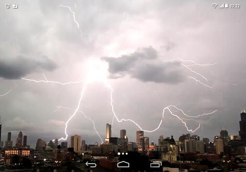 Lightning Storm City 4K LWP screenshot 5